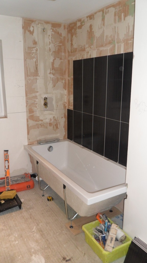 End of Day 3 - House Bathroom #2