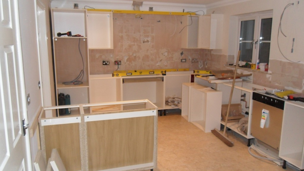 End of Day 3 - Kitchen #1